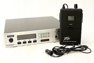 Peavey 03010690 In-Ear Monitor System with 100 Selectable Channel Options