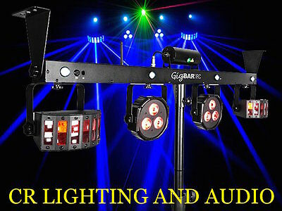 Gigbar- Chauvet (4 In 1 Light With 2 Derbies, 2 Pars A Laser And Strobe)