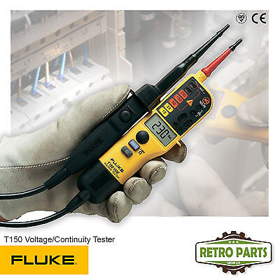Fluke T150 Voltage & Continuity Tester - Genuine UK Edition Same Day Dispatch