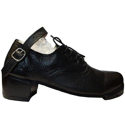 BUDGET IRISH HEAVY SHOES JIG HARD DANCE DANCING GENUINE LEATHER HAND MADE pomps