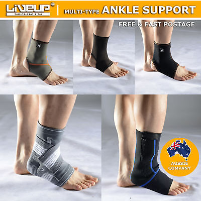 Adjustable Ankle Support Brace Strap Protect Gym Sports Soccer Tennis Basketball