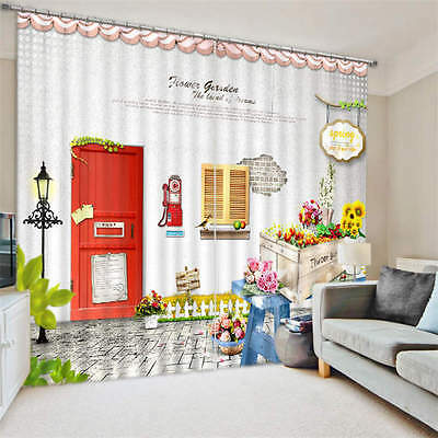 Home Garden Familly 3D Customize Blockout Photo Curtains Print Home Window Decor