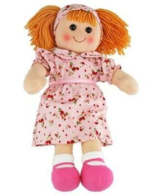 New Girls Toy Rag doll woollen hair soft body & outfit Maisie ragdoll dolly