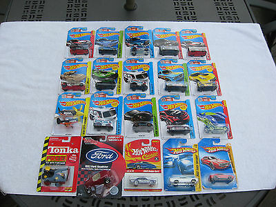 Lot of 18 Hot Wheels~1 Maisto Tonka~1Racing Champions 1:64 Scale Die Cast