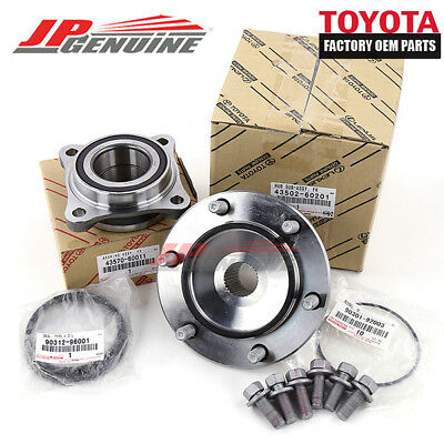 Toyota Genuine Oem 4X4 Complete Front Wheel Bearing Assembly For 05-15 Tacoma