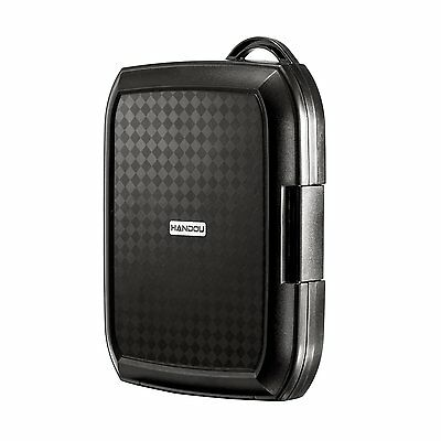Shockproof Dampproof Dustproof Rugged Case Cover for WD My Passport Hard Drives