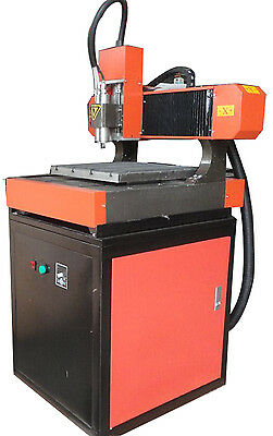 CNC Three Axis Engraver Drilling Milling Machine with1500W Water Cooling Spindle