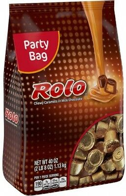 Rolo Chewy Caramels In Milk Chocolate Candy 40 Oz Milk Chocolate With Caramel