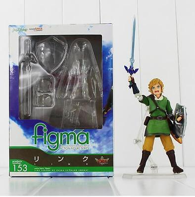 The Legend of Zelda Skyward Sword Link Figma PVC Action Figure Model Toy 14cm