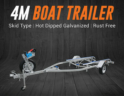 4M Boat Trailer Drive-On Skid Type Tinny Seajay Quintrex Stacer Brisbane QLD