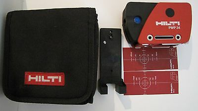 Good Used Condition Hilti Pmp34 Point Laser In Bag Pmp 34