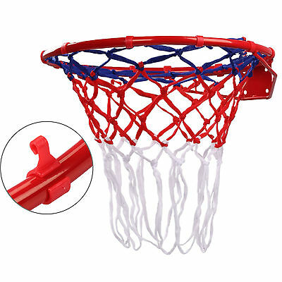 "Basketball Ring Official Size 18"" With Hoop Net & Wall Mounting Fixings"