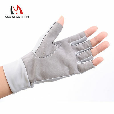 Maxcatch UV Protection Sports Gloves Half-Finger Woman/Man Outdoor Fly Fishing
