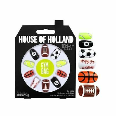 House of Holland faux ongles - Sac de Gymn Sport ongles (24 ongles)