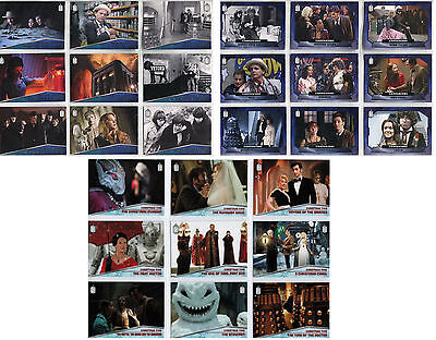 Doctor Dr Who 2015 - Christmas Time - Chase Card SET (10) - Topps 2015 - NM
