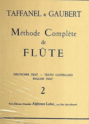 METHODE COMPLETE DE FLUTE-Volume 2- TAFFANEL & GAUBERT
