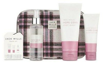 Original Jack Wills Womens Travel Kit Gift Set New