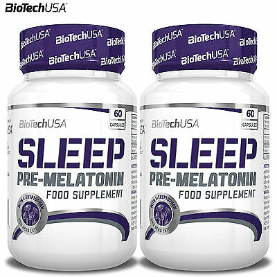 Sleep 60-240 Caps. Melatonin Booster L-Tryptophan Prunus Cerasus Fewerfew Flower