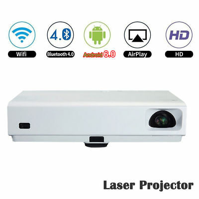 Android6.0 DLP Portable Full HD 1080P Home Theater 3D Laser Projector HDMI LED