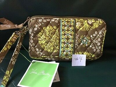 VERA BRADLEY  Wristlet Wallet SITTIN IN A TREE New With Tags! Retired Pattern
