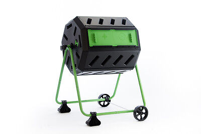 HOT FROG Mobile Dual Chamber Tumbling Composter (Direct from manufacturer)