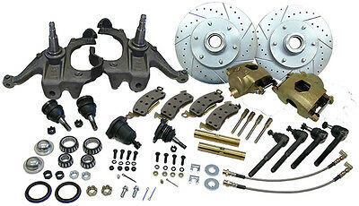 "1963-70  Chevy / Gmc  Truck Deluxe Disc Brake Conversion Kit 5 Lug 2.5"" Drop"