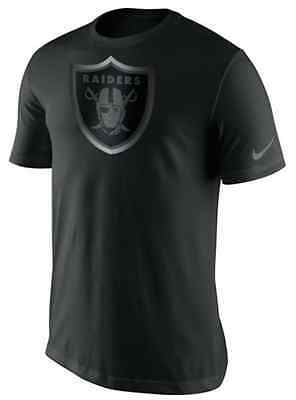 Oakland Raiders Champ Drive Reflective NFL Nike T-Shirt
