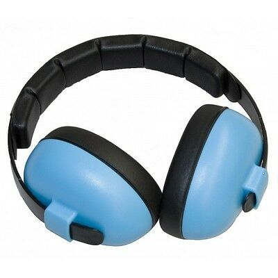 BABY Childs Banz Ear Defenders Earmuffs Protection Blue 3-months+ Boys