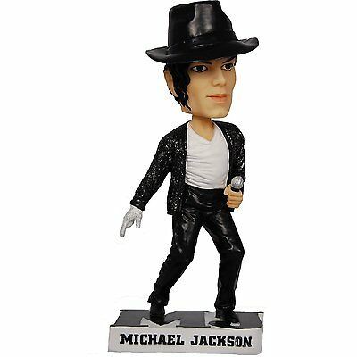 "New In Box Odash Michael Jackson Bobblehead 7"" tall and COA"