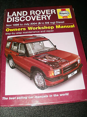 Land Rover Discovery Workshop Manual ( S To 04 Reg ) Diesel