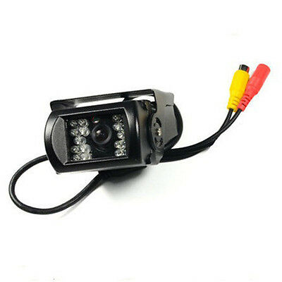 18 IR LED Night Vision Car Truck Bus Rear View Reverse Parking Camera Waterproof