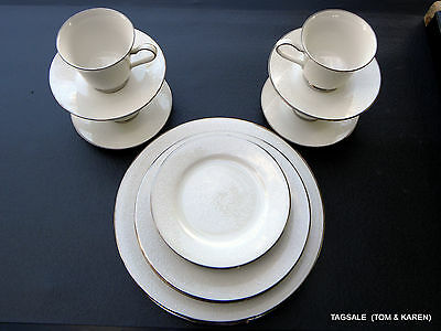 AFFECTION by NORITAKE IVORY CHINA ~ 20 PIECE SET ~ DINNER FOR  4 or 8