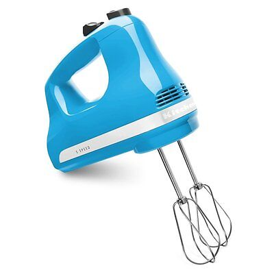 KitchenAid 5-Speed Ultra Power Hand Mixer, Crystal Blue