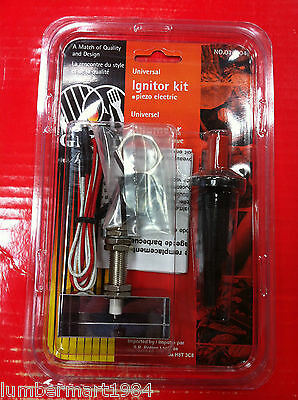 Grill Mate 014004 UNIVERSAL REPLACEMENT BARBECUE BBQ IGNITOR KIT GAS GRILLS PART