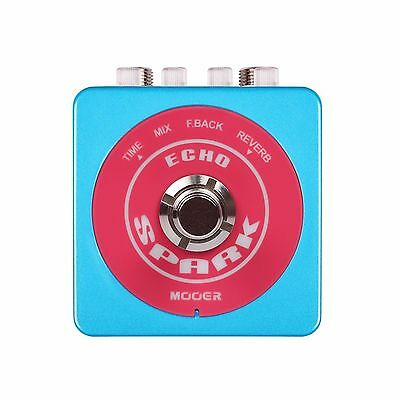 New Mooer Spark Echo Electric Guitar Effects Pedal