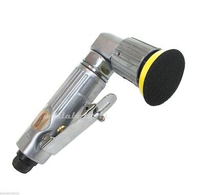"""New 2"""" 90° Right Angle Head Air Sander Grinder W/ Sanding Pad"""