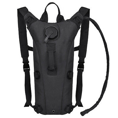 3L Hydration System Survival Water Bag Pouch Backpack Bladder Climbing Hiking US