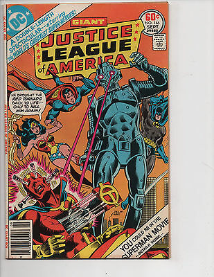 Justice League of America #146 (9/77) FN (6.0)! Giant Size! Great Bronze Age!