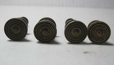 Lot of 4 Antique Phonograph Knobs Vintage Cabinet Pulls Phonograph Parts (#140)