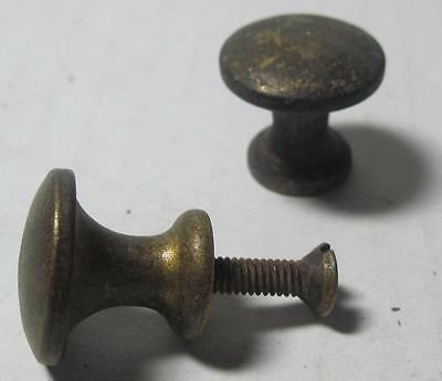 Lot of 2 Antique Phonograph Knobs Vintage Cabinet Pulls Phonograph Parts (#15A)