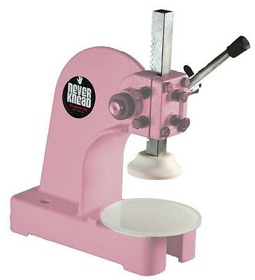 PINK NEW POLYMER CLAY KNEADER MACHINE - EASY * FAST NEVERknead for Sculpey Kato