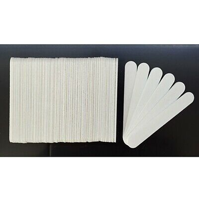 Lot of 50 100 200 300pcs  Nail Salon Disposable Mini Small  Files Grits 100/100