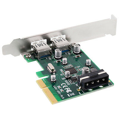 PCI-E PCIE 4X to USB 3.1 Port Type A Super speed 10 Gbps Expansion Card