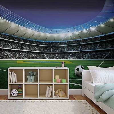 WALL MURAL Football Stadium XXL PHOTO WALLPAPER (1914DC)