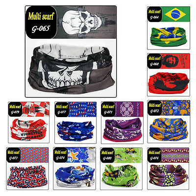 Cycling Bicycle Outdoor Sport Multi Scarf Magic Headband Face Mask G061-g080