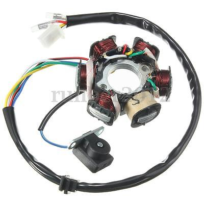 6 Coil Ignition Stator Magneto For GY6 50 110 150cc Scooter Moped ATV Go Kart