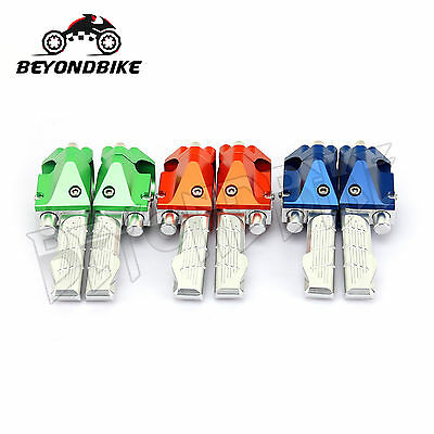 Rear Footpegs Passager Footrests for Yamaha BWS 125 BWS125 ALL Year New ALLOY