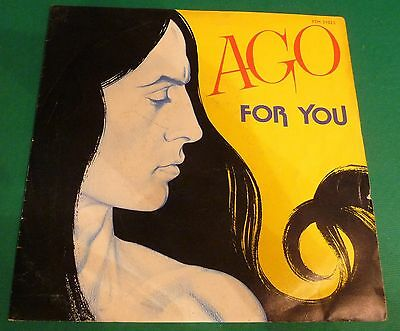 "# Ago FOR YOU/ STOP YOUR LIFE Italy 1983 7""-M00267"