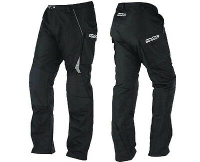 "New L 34"" Hebo Baggy Fit Adult Trials Trousers Pants Black"