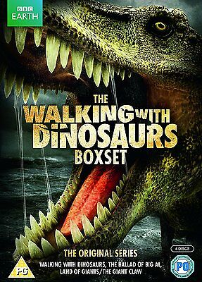 Walking With Dinosaurs BBC Series Complete Collection DVD 4 - Disc Box Set Xmas